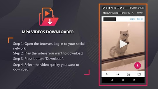 Mp4 video downloader – Download video mp4 format Apk Latest Version Download For Android 10