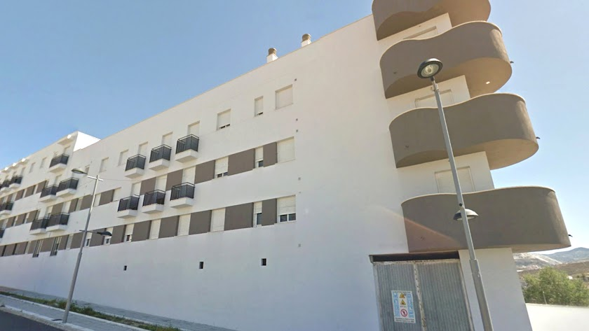 Residencial con pisos a la venta en Olula del Río.