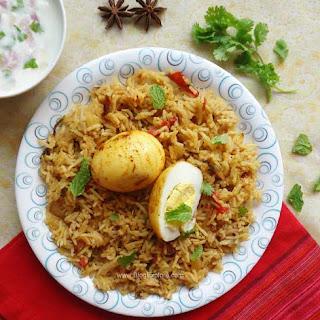 Egg Biryani Masala Recipes