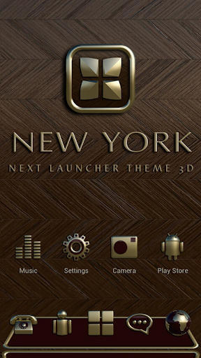 Next Launcher Theme New York
