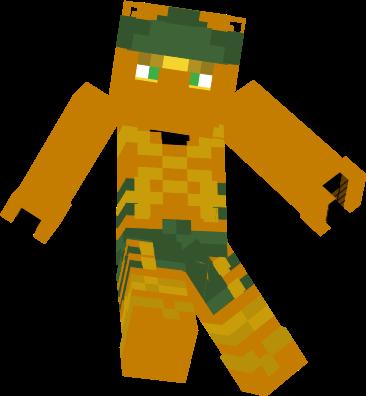 Lloyd Ninjago Nova Skin