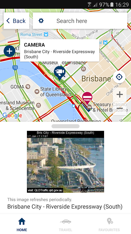 QLDTraffic- screenshot