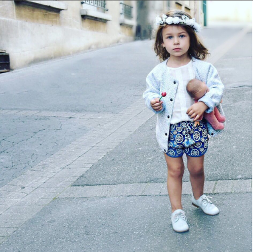 mini-look fille hippie chic
