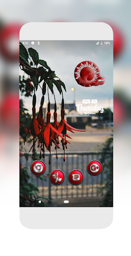 Download Orbic Red Icons Pack MOD APK 5