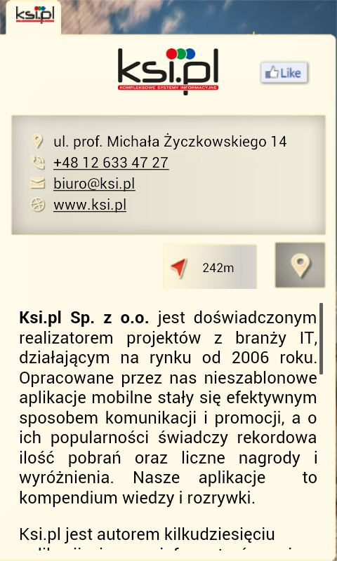 Kraków 4MOBILE- screenshot