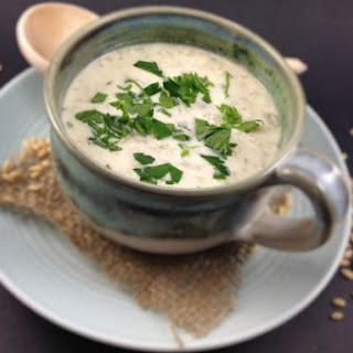Israeli Hot Yogurt & Barley Soup