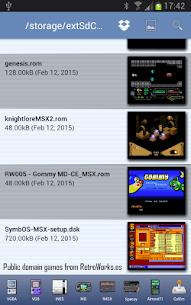 fMSX – Free MSX Emulator Apk Download For Android 2