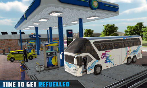 Coach Bus Simulator - City Bus Driving School Test 1.7 screenshots 2
