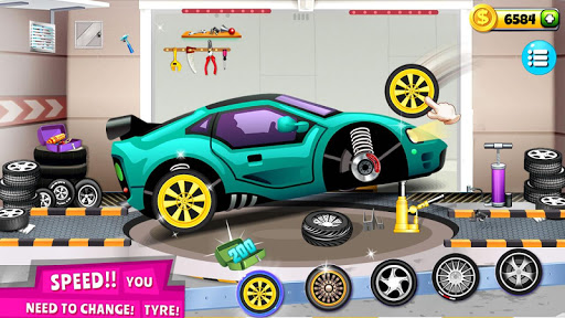 Modern Car Mechanic Offline Games 2019: Car Games 1.0.41 screenshots 1