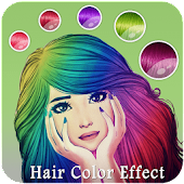 Girls Hair Color Effect - Girls Photo Editor