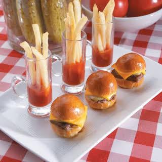 {Recipes} Mini Burgers.