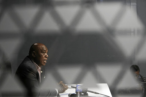 DEFIANT: Tokyo Sexwale comments on the findings of an independent investigation into Trillian Capital relating to state capture Picture: ALAISTER RUSSELL