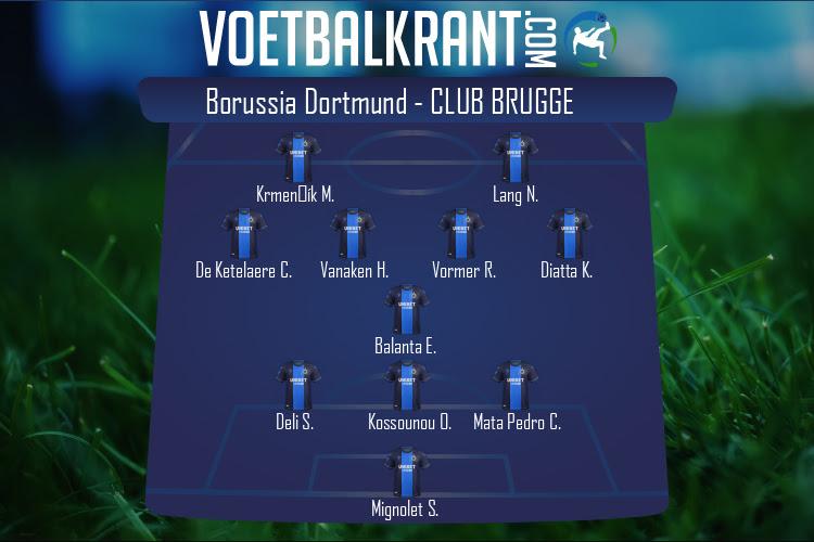 Club Brugge (Borussia Dortmund - Club Brugge)