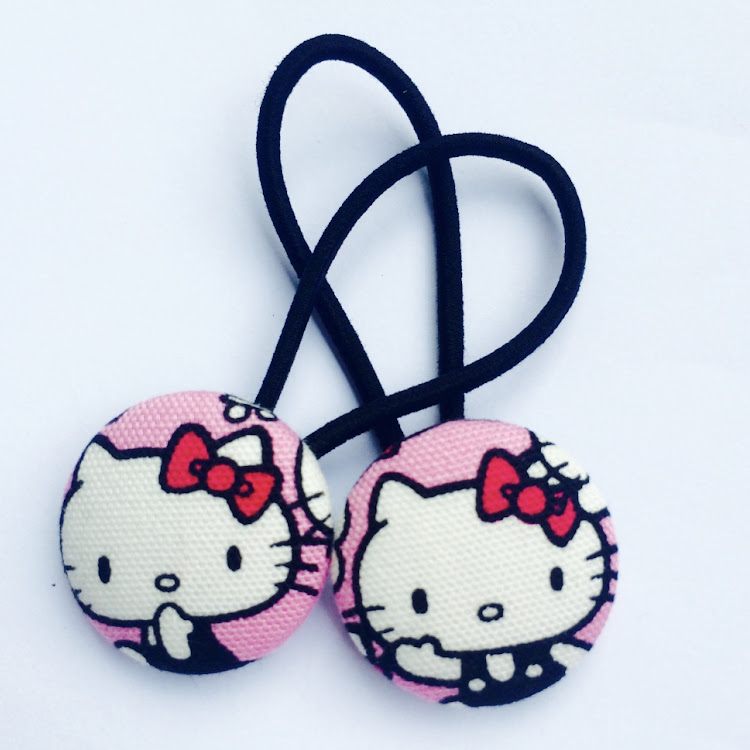 Sweet Pink HK Hairties - Medium