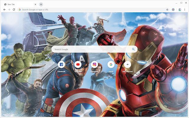 New Tab - Marvel Comics