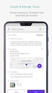 Employee Tracking & Field Service App - TaskCare
