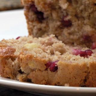 Apple-Pomegranate Spice Bread.