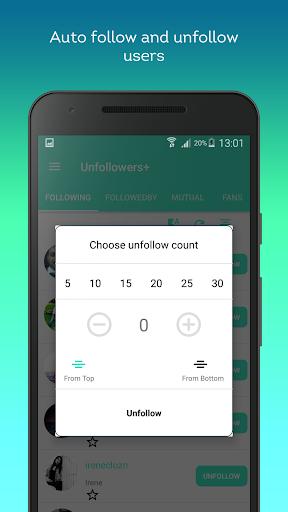 Social Unfollowers + 2.1.3 screenshots 2