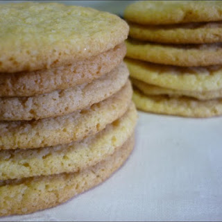 Cornmeal Cookies with Lemon and Fennel.