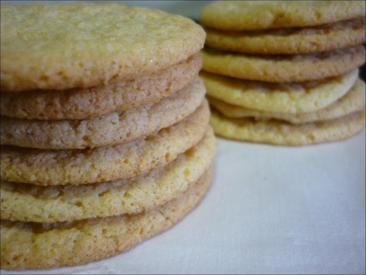 Cornmeal Cookies with Lemon and Fennel