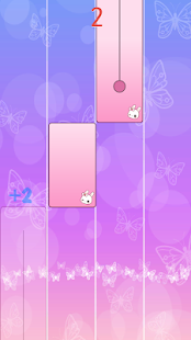 Game Flower Pink Piano Tiles - Girly Butterfly Songs APK for Windows Phone