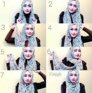 Step By Step Hijab Tutorial - náhled