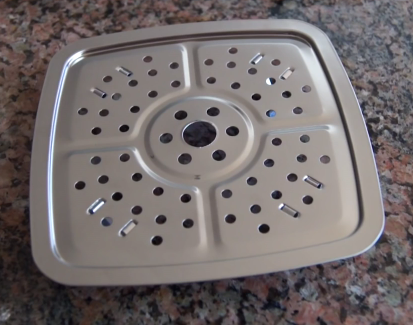 copper chef steamer tray