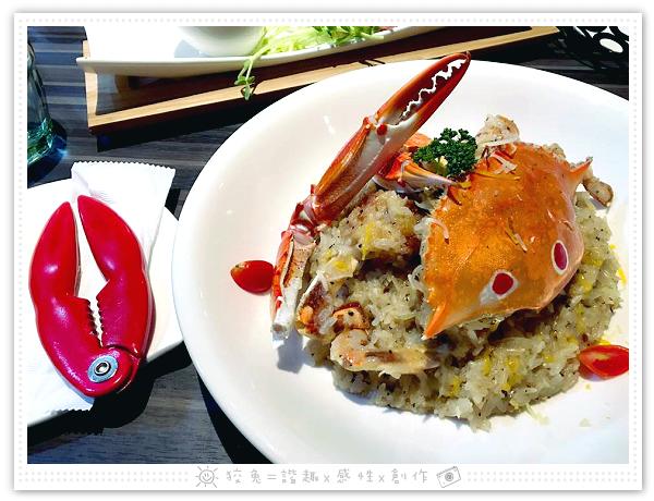洋城義大利餐廳‧安平家樂福店~超狂!季節限定之松露螃蟹燉飯!超值118元升級套餐吃到撐!用餐不限時!