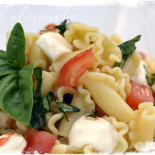 Campanelle alla Mozzarella {Campanelle Pasta with Mozzarella}.
