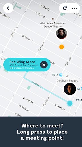 Wave Let's Meet App - Find Your Friends