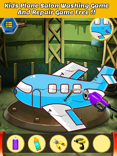 plane washing