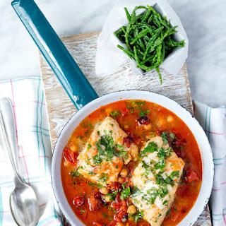 Spanish Cod One Pot.
