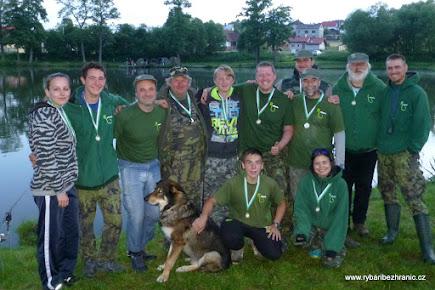 Sraz týmu 2015 - Pilský rybník - Bohdaneč