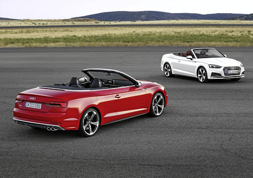 Audi has launched its A5 and S5 convertible models in SA this week. The new Pajero Sport will arrive in SA in September. Picture: QUICKPIC