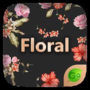 Floral GO Keyboard Theme Emoji 4.2 Icon