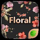 Floral GO Keyboard Theme Emoji icon