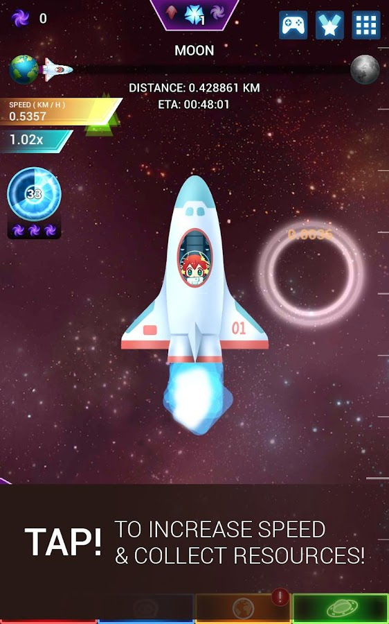 Star Tap - Idle Space Clicker- screenshot