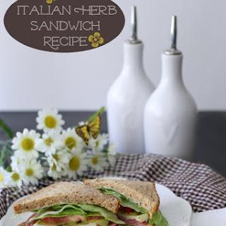 Italian Herb Salami Sandwich Recipe