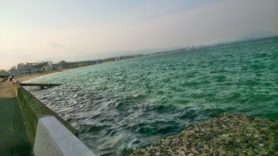 Photo: Each day, I feel a different impression from the morning ocean as compared with the previous day. Another peaceful morning by the seashore in my hometown Fukuoka. 30th May updated (日本語はこちら) -http://jp.asksiddhi.in/daily_detail.php?id=558