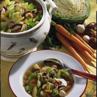 Spring Vegetable Soup.