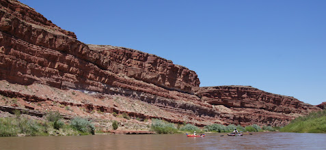 Photo: Up river from Mexican Hat Rock
