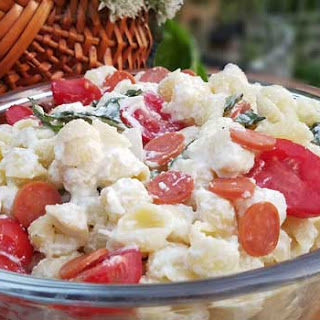 Cheesy Italian Pasta Salad