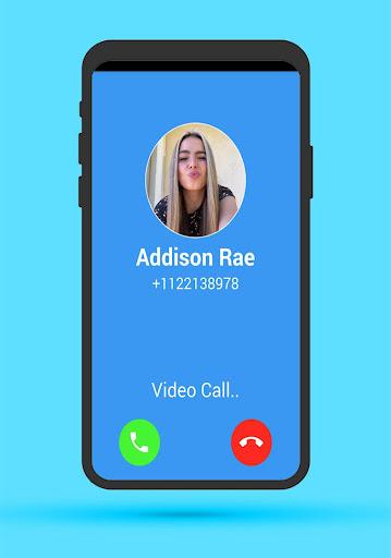Addison Rae Fake call screenshot 2