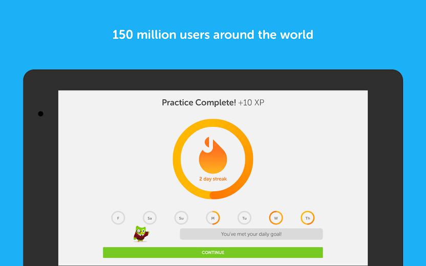 Screenshot 8 for Duolingo's Android app'