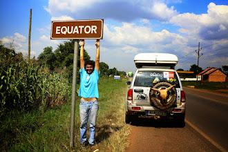 Photo: Crossing the Equator