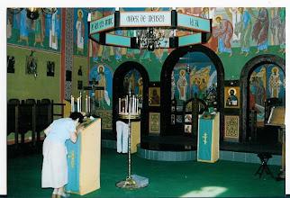 Photo: zicht op het heiligdom