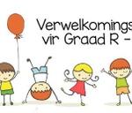 Graad R Verwelkomingsaand - 2018 (1 November 2017 om 18:00) : Laerskool Wierdapark