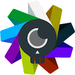 Iride UI is Dark - Icon Pack 6.1 (Patched)