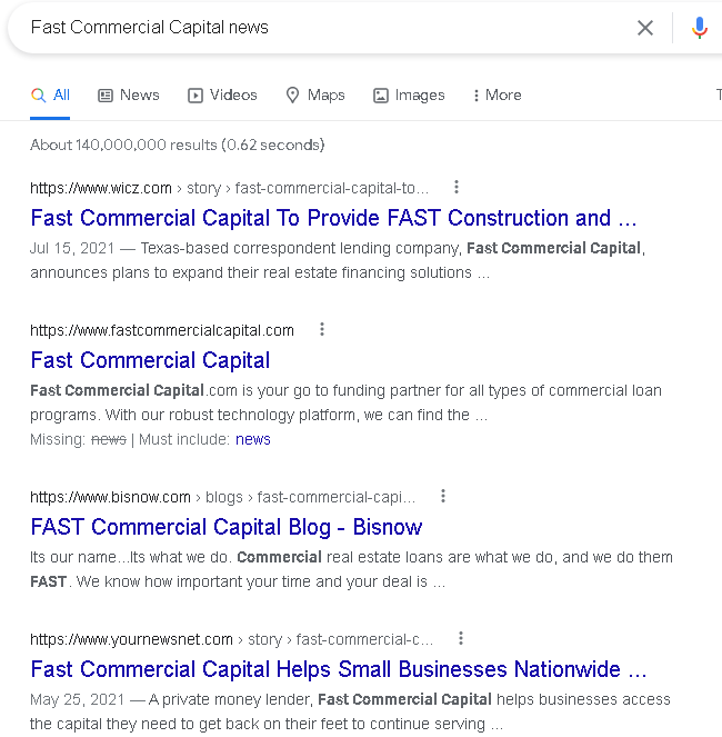 Fast Commercial Capital review
