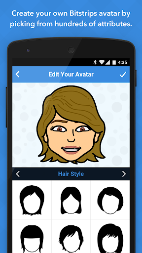 Bitstrips screenshot 1